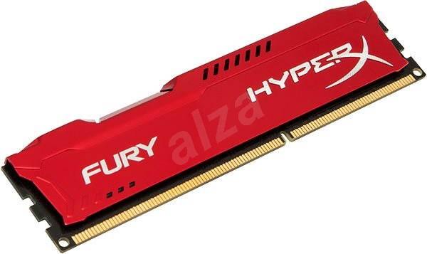 HyperX 8GB DDR3 1600 MHz CL10 Fury Red Serie - Arbeitsspeicher
