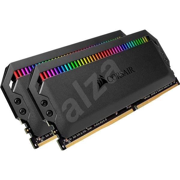 Corsair 16 GB KIT DDR4 3200 MHz CL16 Dominator Platinum RGB Black - Arbeitsspeicher