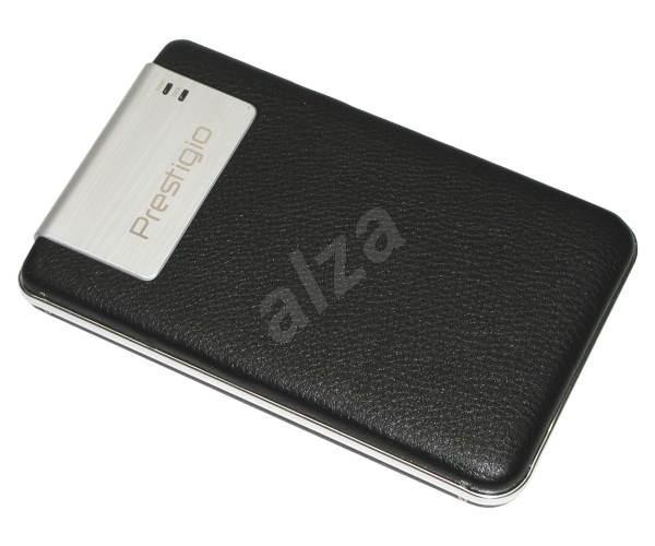 """PRESTIGIO 40GB Data Safe II. černá kůže (black leather), 2.5"""" externí HDD, USB2.0 - External Hard Drive"""