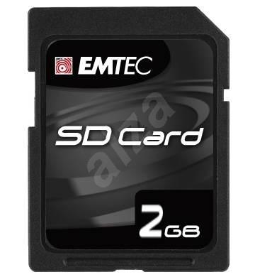 EMTEC Secure Digital 2GB High Speed 50x - Speicherkarte