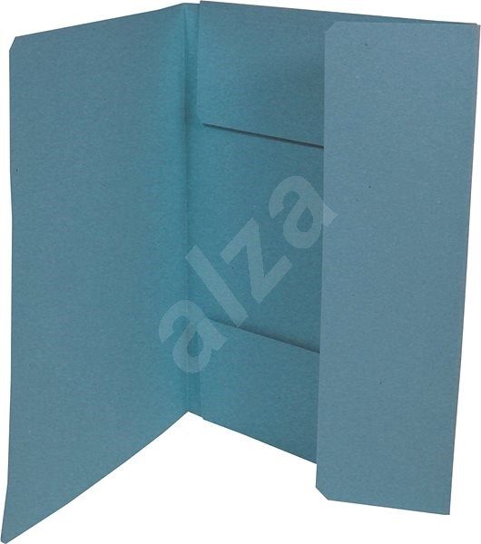 HIT OFFICE A4 Ekonomik 253 (je 50 Stück) - blau - Dokumentenmappe