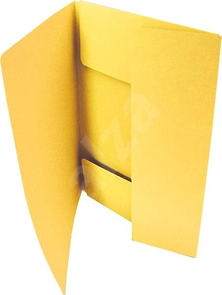 HIT OFFICE A4 Classic 253 (je 50 Stück) - gelb - Dokumentenmappe
