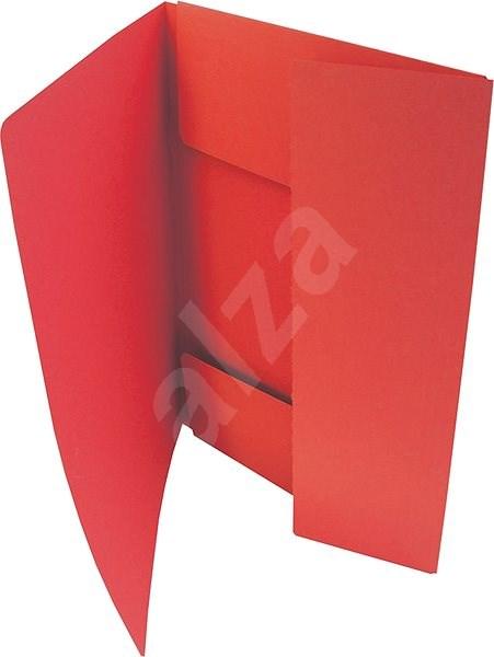 HIT OFFICE A4 Classic 253 (je 50 Stück) - rot - Dokumentenmappe