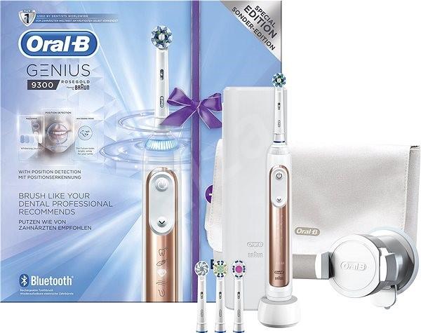 Oral B Genius 9300 Rose Gold Elektrische Zahnburste Alza De