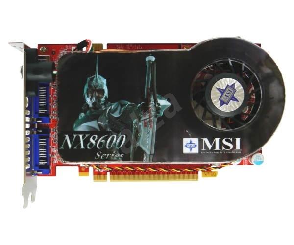 MSI NX8600GT Twin Turbo - Graphics Card