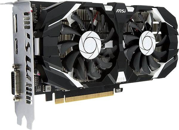 MSI GeForce GTX 1050 Ti 4GT OC - Grafikkarte