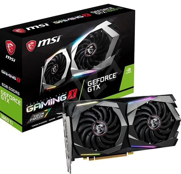MSI GeForce GTX 1660 Ti GAMING X 6G - Grafikkarte