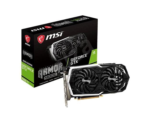 MSI GeForce GTX 1660 Ti ARMOR 6G - Grafikkarte