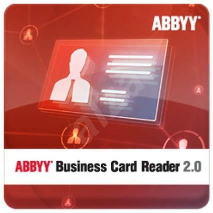 Abbyy Business Card Reader 2 0 Für Windows Elektronische Lizenz