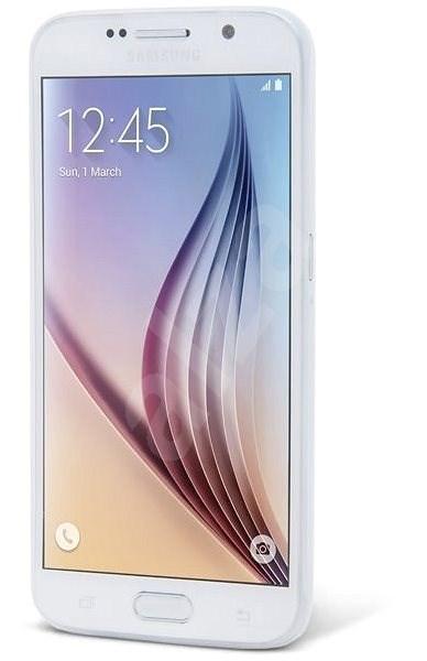 Epico Twiggy Matt für Samsung Galaxy S6 - weiß transparent - Schutzhülle