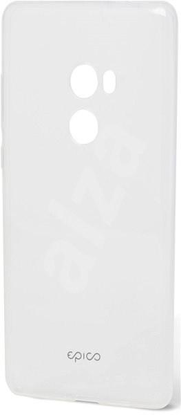 Epico Ronny Gloss für Xiaomi Redmi Mi Mix 2 - weiß transparent - Silikon-Schutzhülle