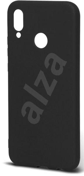 Epico Silk Matt für Huawei P20 Lite - schwarz - Silikon-Schutzhülle