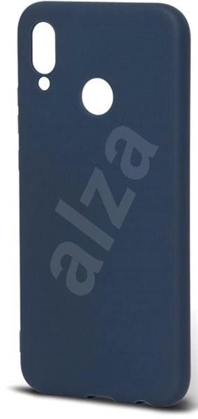 Epico Silk Matt für Huawei P20 Lite - dunkelblau - Silikon-Schutzhülle