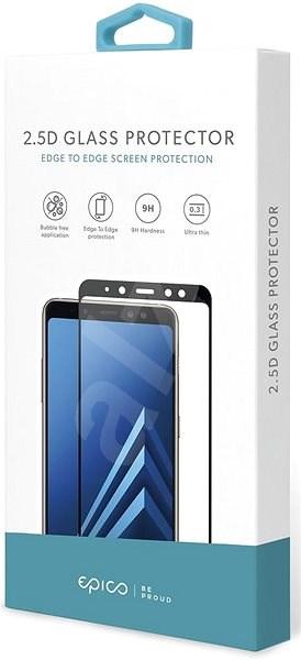 Epico Glass 2.5D für Huawei P20 Lite - schwarz - Schutzglas