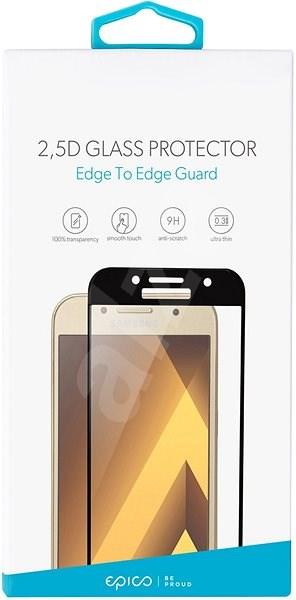 Epico Glass 2.5D für Huawei P20 Pro - schwarz - Schutzglas