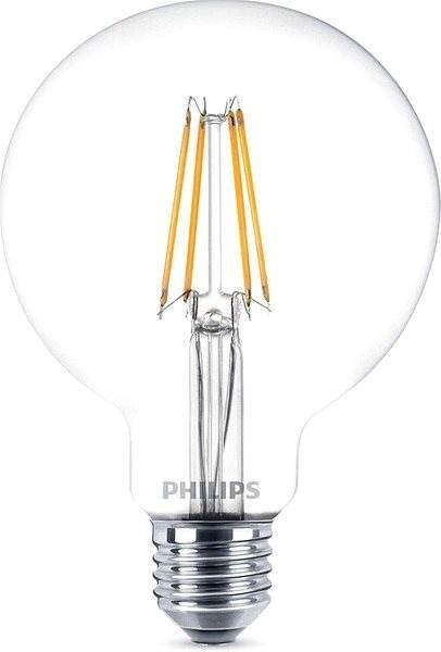 Philips LEDClassic Glühfaden Globe Retro 6-60W, E27, 2700K, klar ...