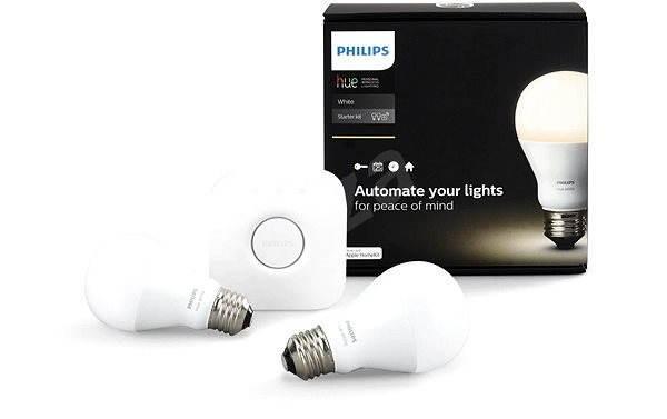 Philips Lampen Led : Led birne philips hue weiß 8.5w e27 starter kit led lampe alza.de