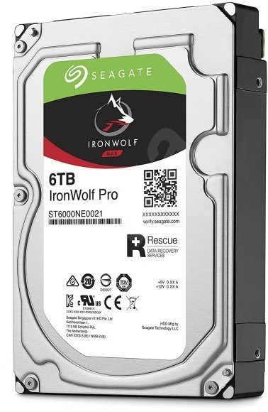 Seagate IronWolf Pro 6TB - Festplatte