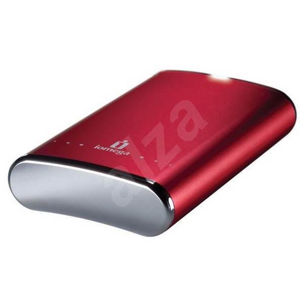 IOMEGA eGo Desktop 2000GB Red - External Hard Drive