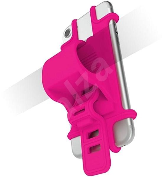 CELLY EASY BIKE für Telefone, zum Befestigen an den Lenker, Rosa - Handyhülle