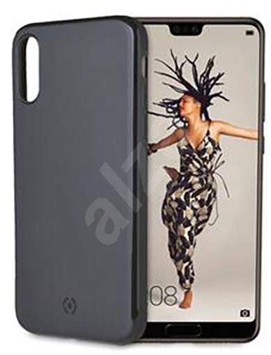 CELLY GHOSTSKIN für Huawei P20 schwarz - Silikon-Schutzhülle