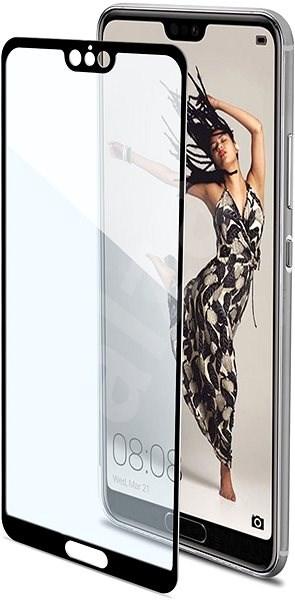 CELLY Full Glass für Huawei P20 Pro Schwarz - Schutzglas