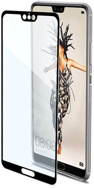 CELLY Full Glass für Huawei P20 schwarz - Schutzglas
