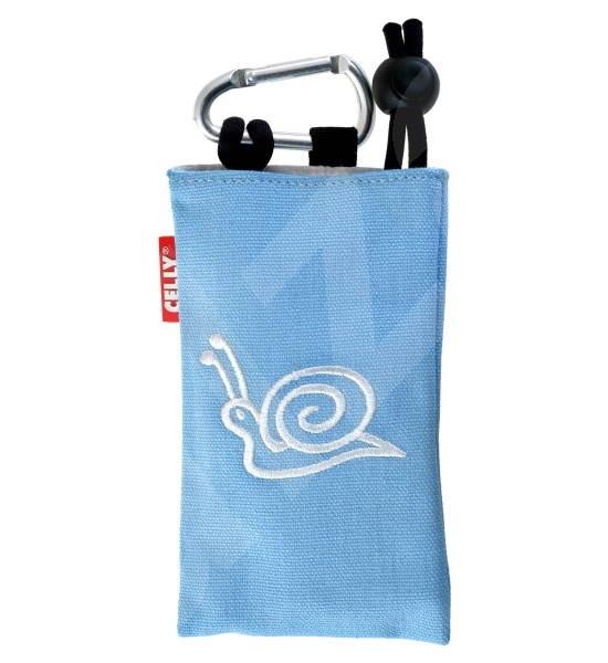 CELLY PUKKA34 - pouzdro na foto nebo mobilní telefon, modré (blue) - Mobile Phone Case