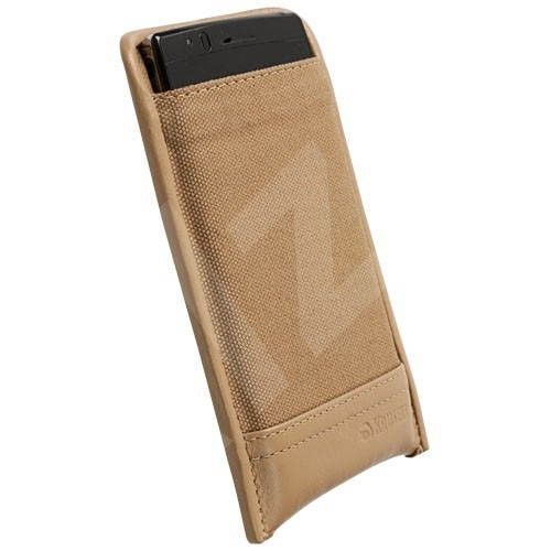 Krusell LUND POUCH XXLarge pro Sony Ericsson XPERIAXPERIA Arc/ Arc S beige - Handyhülle