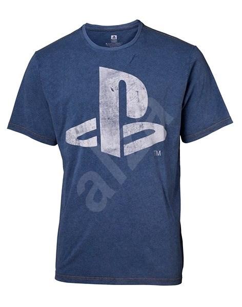 PLAYSTATION - Faux Denim T-Shirt XL - T-Shirt
