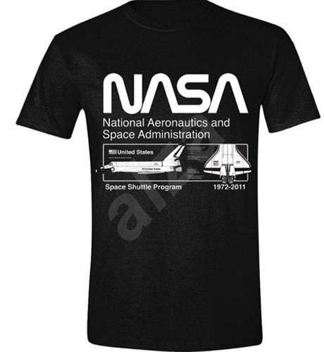 NASA Space Shuttle Programm - T-Shirt S - T-Shirt