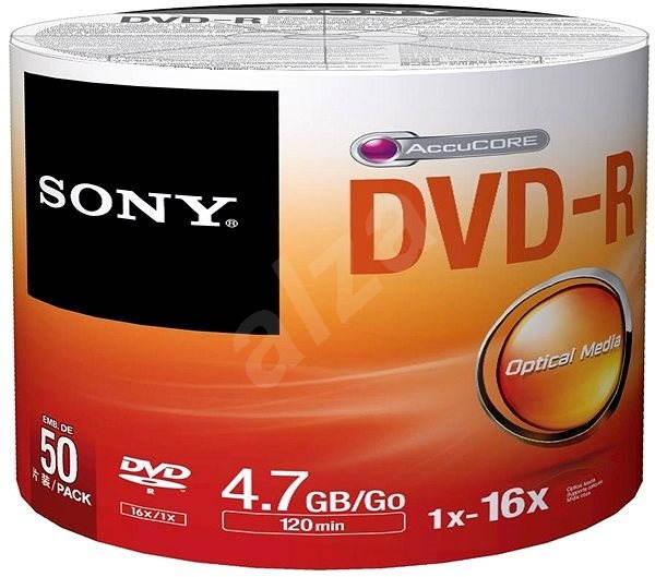 Sony DVD-R 50pcs cakebox bulk - Media