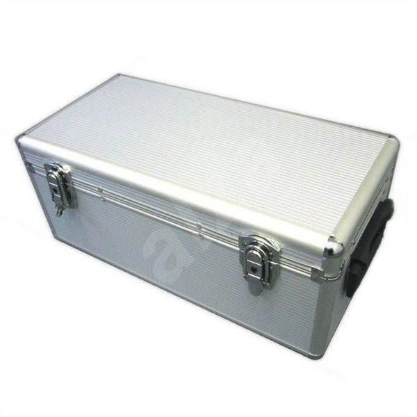 QCP hliníkový pro 400ks - CD/DVD Briefcase