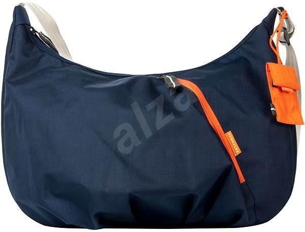 CRUMPLER Doozie Hobo M - blau / orange - Damen-Handtasche