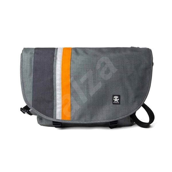 Crumpler Dinky Di Messenger M Dunkelgrau Orange Laptop