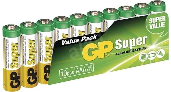 GP Super Alkaline LR03 (AAA) 10 Stück im Blister - Einwegbatterie