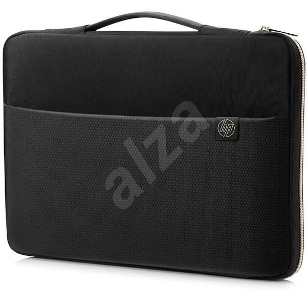 "HP Carry Sleeve 14 "" - Schwarz / Gold - Laptophülle"