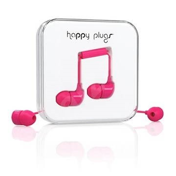 Happy Plugs In-Ear Cerise - Kopfhörer