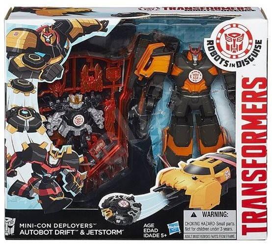 Transformers Rid - Kampft der  Minicons Autobot Drift & Jetstorm - Figur
