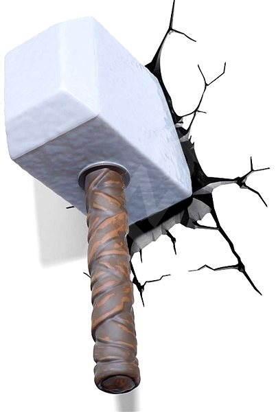 Philips 3D-Wandlampe - Thor Hammer - Kinderzimmer-Beleuchtung