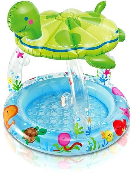Intex Kinderbecken - Turtle CIRCUMFLEX - Aufblasbarer Pool