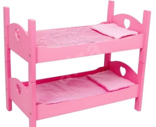Etagenbett Für Puppen Selber Bauen : Zubehör für puppen kleines hochbett