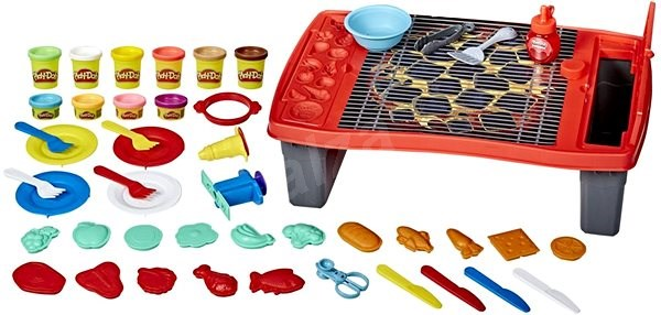 Play-Doh Burger Barbecue / Burger Party - Knetmasse