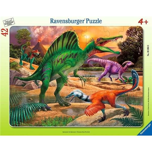Ravensburger 050949 Dinosaurier 30-48 Stück - Puzzle