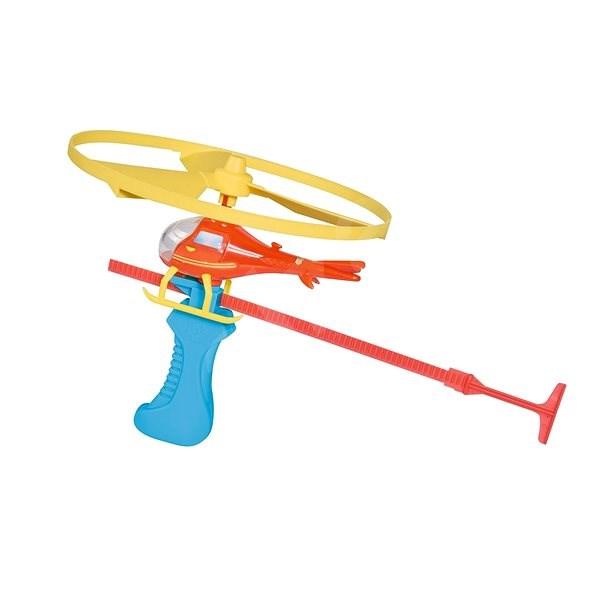 Simba Feuerwehrmann Sam mit Hubschrauber - Hubschrauber mit Fernsteuerung