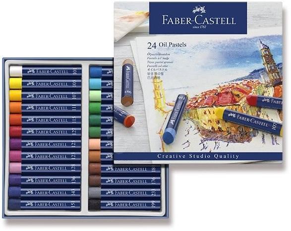 Faber-Castell Ölpastellkreiden - 24 Farben - Ölkreide