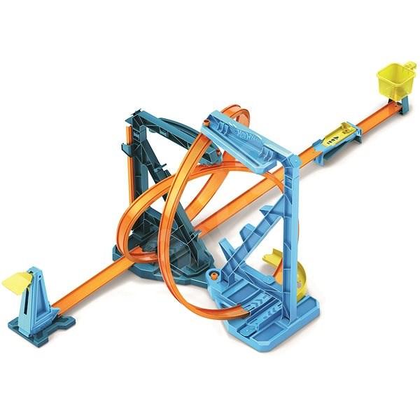 Hot Wheels Track Builder Endlosschleife - Autorennbahn