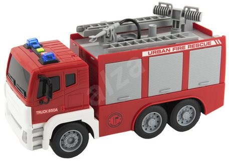 Car firefighters spraying water - Toy Vehicle