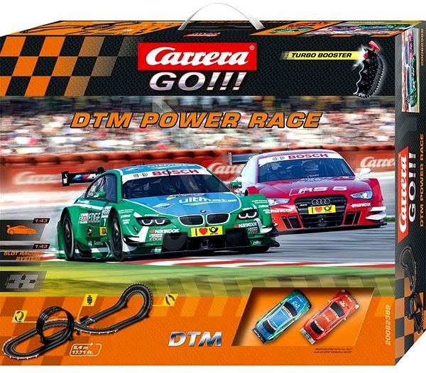 Carrera GO DTM Power Renn - Autorennbahn