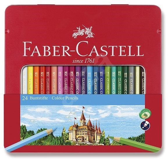 Faber-Castell, 24 Farben - Bundstifte